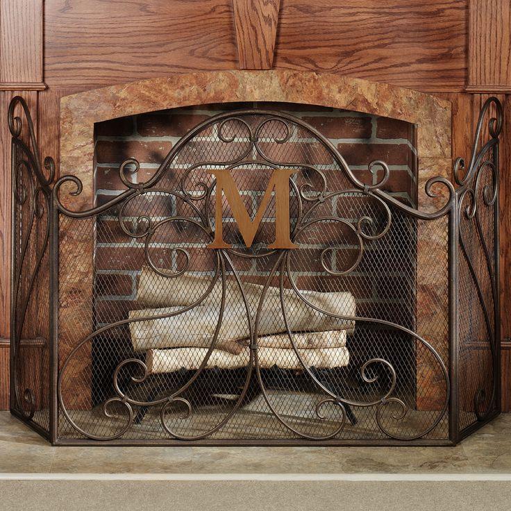 Fireplace Design metal fireplace screen : 11 best fireplace screens images on Pinterest