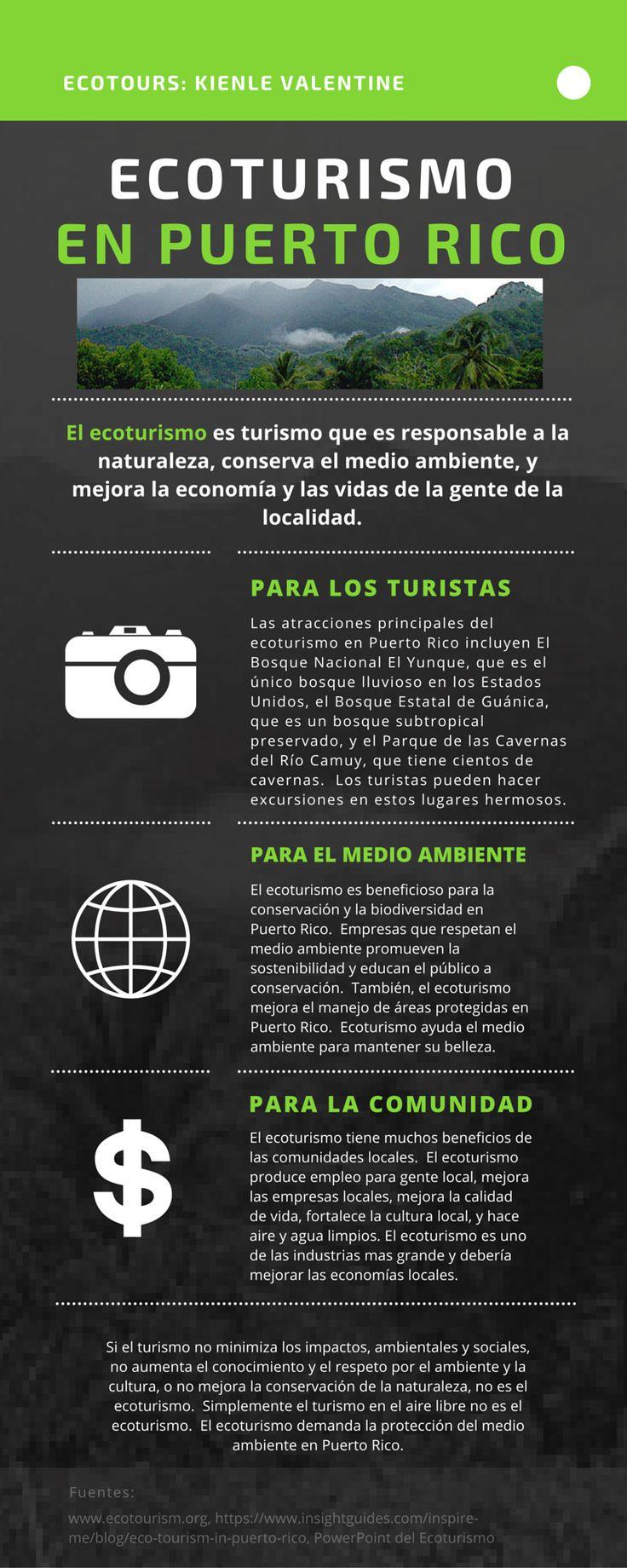 ecotours: kienle Valentine ecoturismo en puerto rico El ecoturismo ...