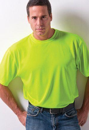 Boulder Hi-Vis - Jacquard Textured Training Shirt