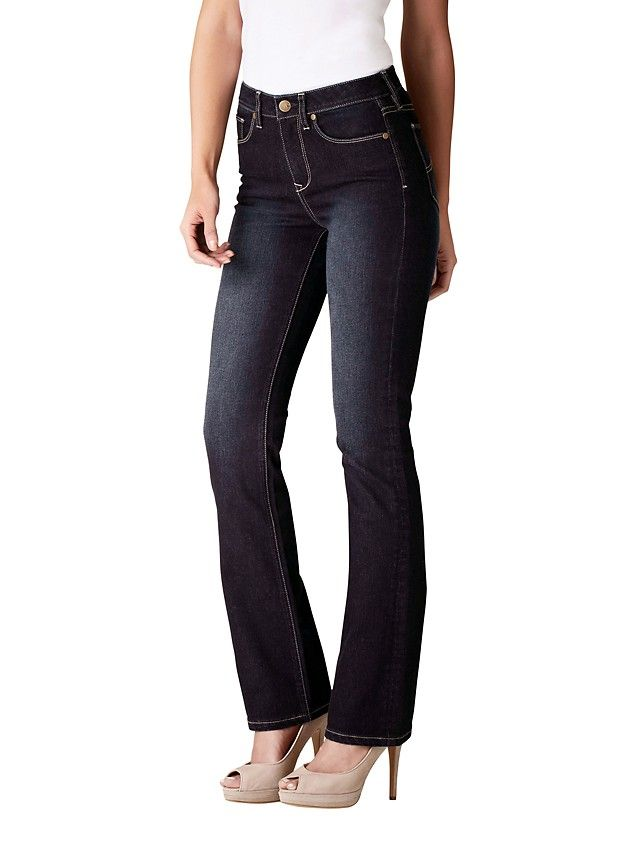Tummy Trimmer Slim Bootcut Jeans (Extra Long) -
