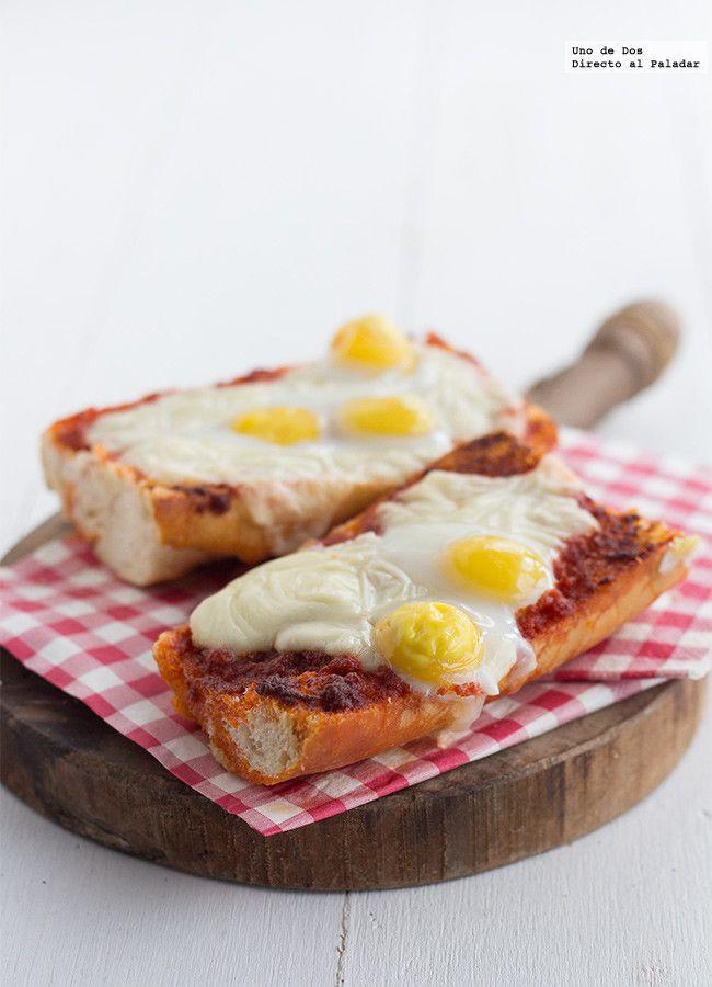 #Panini de sobrasada, queso y huevos. Receta