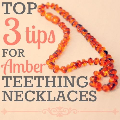 Photo credit: Cookies For Breakfast We recently talked about our 3 favorite natural teething remedies, and now we're back with our top 3 tips for Baltic amber teething necklaces, including how to buy the most effective necklace, and how to use it properly.  In case you haven't yet read our