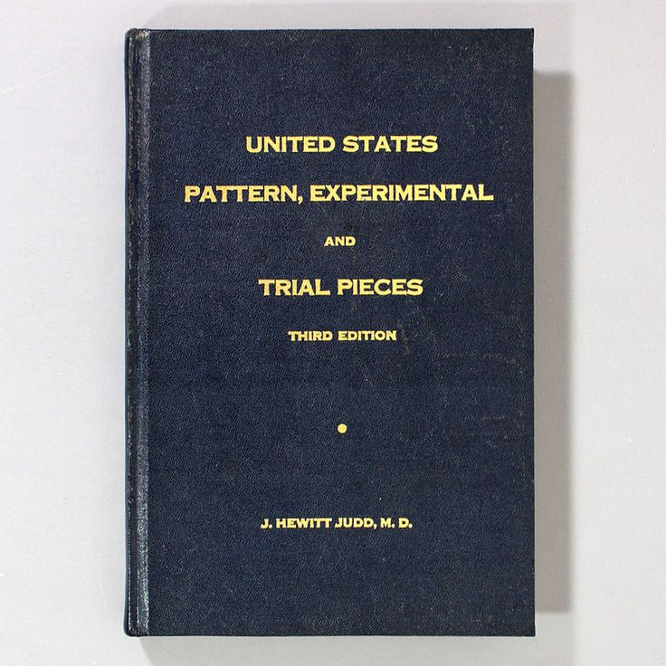 UNITED STATES PATTERN, EXPERIMENTAL AND TRIAL PIECES by J. Hewitt Judd - Coins #Whitman