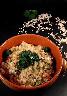Minestra di orzo e broccolo