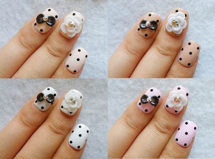 cute acrylic nail designs for teenagers