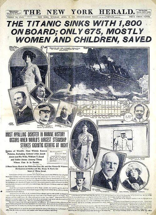 Best resources for teaching about the sinking of the Titanic