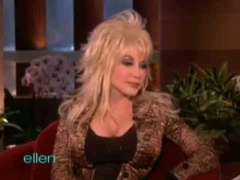 ▶ Dolly Parton on Ellen - May 2011 - YouTube