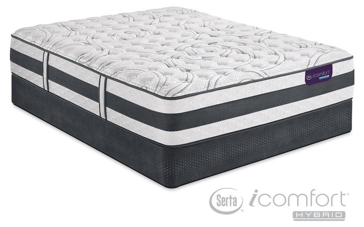Applause Ii Firm King Mattress And Split Low-Profile Foundation Set