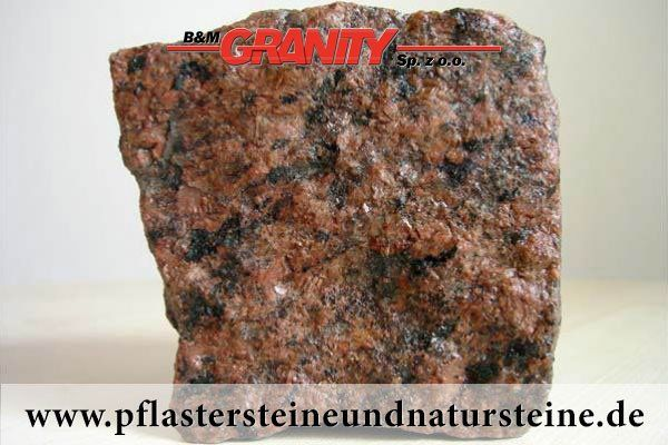 Firma B&M GRANITY - gespaltene Pflastersteine aus rotem, schwedischem Granit - Vanga (Vanga-Pflastersteine) http://www.pflastersteineundnatursteine.de/fotogalerie/pflastersteine/