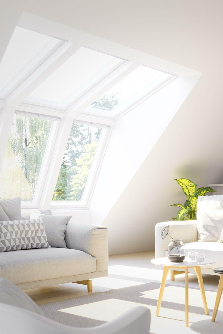 Neues Dachfenster für mehr Tageslicht, Luft und Ausblick in Ihrem Zuhause