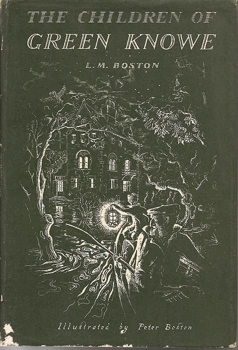 'the children of green knowe' : l.m. boston   This was one of my favorites.   Mom did this one right - she read out loud to us, even when we were old enough to read ourselves!