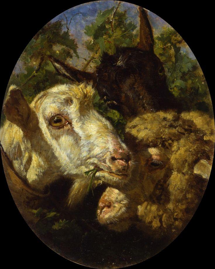 Filippo Palizzi | Figure / Genre / Barbizon landscape painter | Tutt'Art…