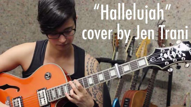 Leonard Cohen - Hallelujah acoustic guitar chords - easy acoustic guitar cover by Jen Trani - acoustic fingerpicking guitar song - acoustic guitar tab