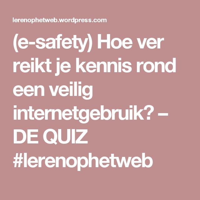 17 beste ideer om E Safety Quiz på Pinterest Klasseromsutstillinger - food safety quiz