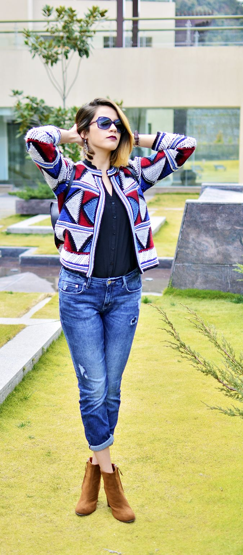 Akanksha Redhu, fashion blogger from India