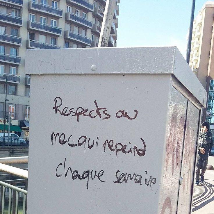 graffiti / blague