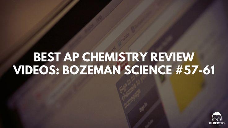 Best AP Chemistry Review Videos: Bozeman Science AP Chemistry Video Essentials Entropy, Spontaneity, and Gibbs Free Energy (#57-61) https://www.albert.io/blog/bozeman-science-ap-chemistry-video-essentials-entropy-spontaneity-and-gibbs-free-energy/