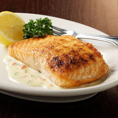 Morton 39 S Salmon With Beurre Blanc Sauce Sauces The O