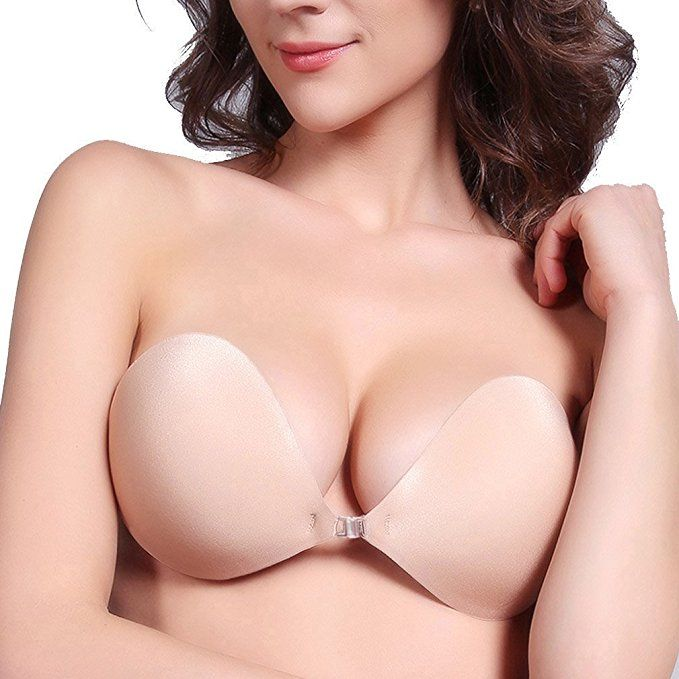 629 best bikini fashion images on pinterest bikini for Best adhesive bra for wedding dress