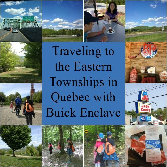 Traveling the Eastern Townships in Quebec in the Buick Enclave