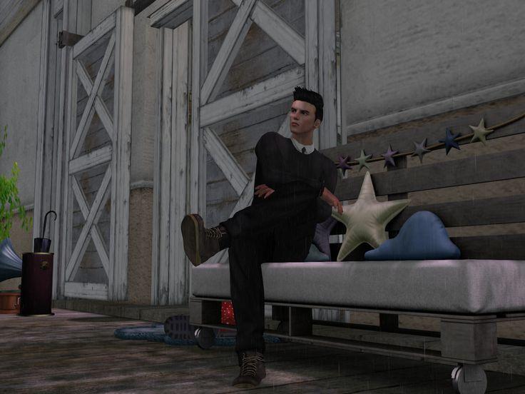https://flic.kr/p/C3ENui | Rain | Visit this location at Binemist in Second Life