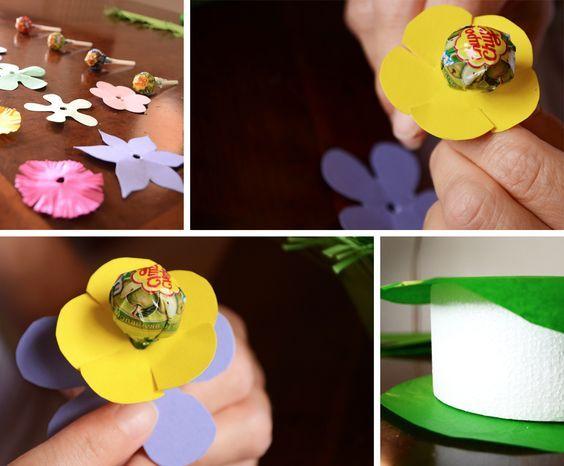 Tweedot blog magazine - Come Fare una Divertente Torta di Chupa Chups per i Compleanni dei Bambini