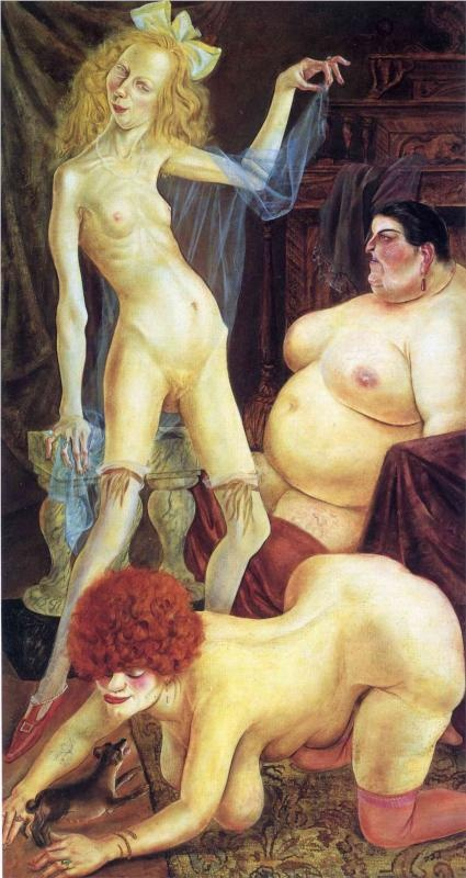 Three Wenches - Otto Dix