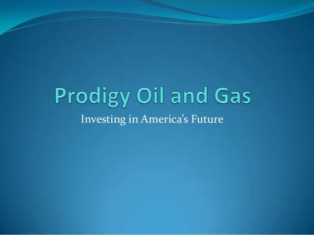 Prodigy Oil and Gas is one of the leading oil and gas drilling company founded by Shawn Bartholomae. Get detail and oil and gas investment tips from http://oilandgasinvestments-usa.com/