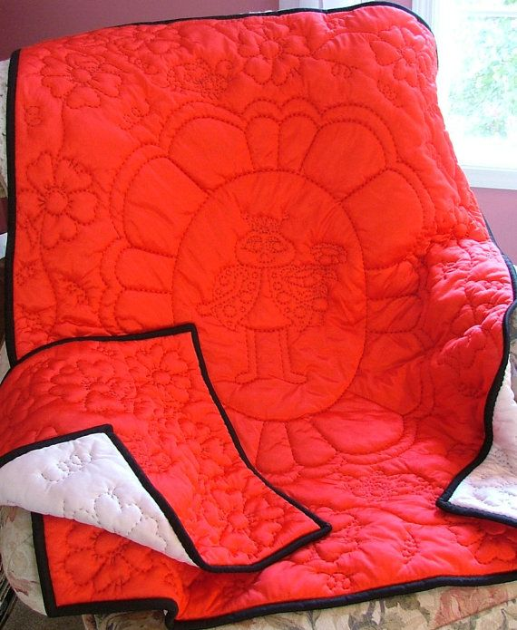 "My ""Lady"" Bug quilt - new design"