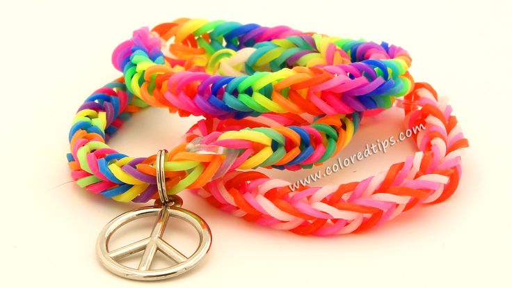 How To Make a Fishtail Loom Bracelet – Easy Rainbow Loom Bands Tutorial