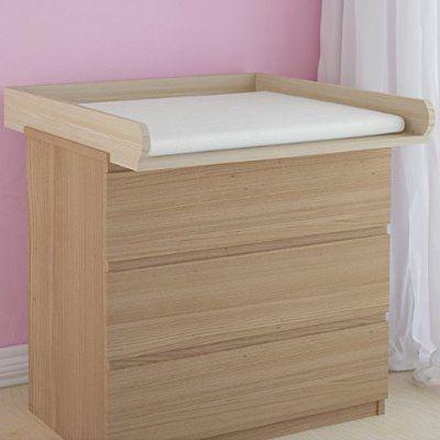 infantastic Fasciatoio rialzato appoggio ripiano fasciatoio per cassettiera IKEA MALM colore a scelta (buche)
