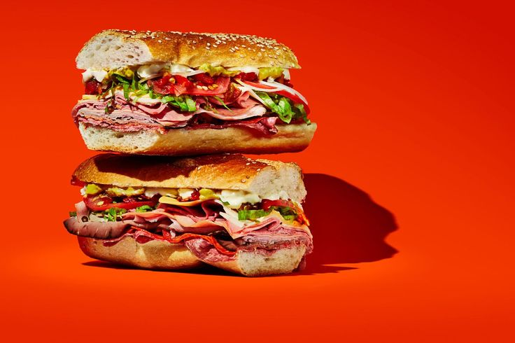 The 10 Most Iconic New York Sandwiches #refinery29  http://www.refinery29.com/best-sandwiches-nyc#slide-8  What: The BombWhere: Sal, Kris, & Charlie's Deli  For only $7, you can get a 12-inch sandwich with everything on it: The Bomb comes packed with multiple types of lunch meats, cheeses, toppings, and dressings. It might just be the biggest — and best — meal in Queens.  Sal, Kris, & Charlie's Deli, 33-12 23rd Avenue (between 33rd ...