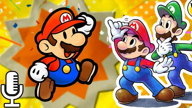 ✯ Mario & Luigi: PAPER JAM ✯ | Ep 4: ¡PAPER MARIO se une al COMBATE! [FU...