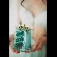Маленький торт на фотосессию