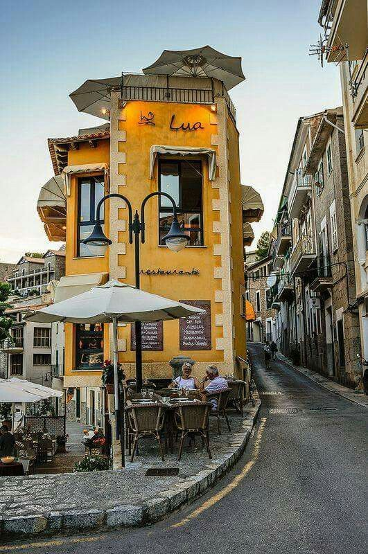 Restaurante Lua, Port de Soller, Mallorca, Spain