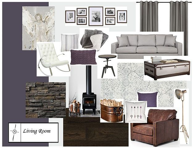 Living room concept with benjamin moore 39 s 2017 colour of for White shadow paint color
