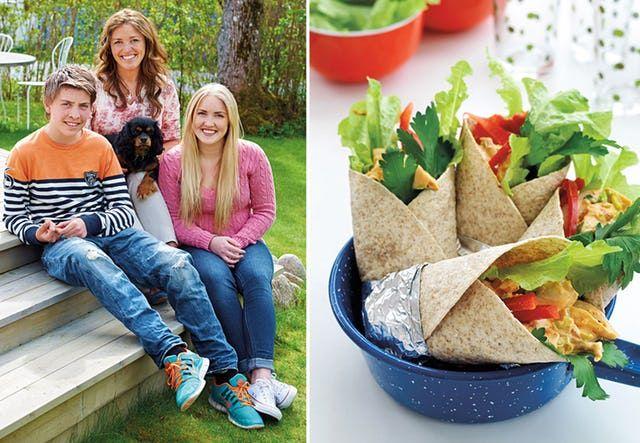 Se hva Taras kostholdsekspert Ulrika Davidsson gjør for å få tenåringsbarna til å velge sunn mat.