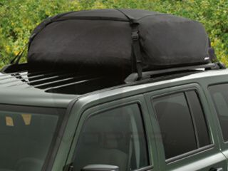1991-2015 Jeep With Roof Rack Cross Rales ROOF TOP CARGO BAG CARRIER OEM MOPAR - 2014 Jeep Grand Cherokee (82207198)