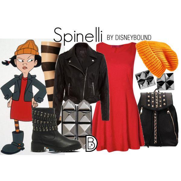 Disney Bound - Spinelli (Recess)