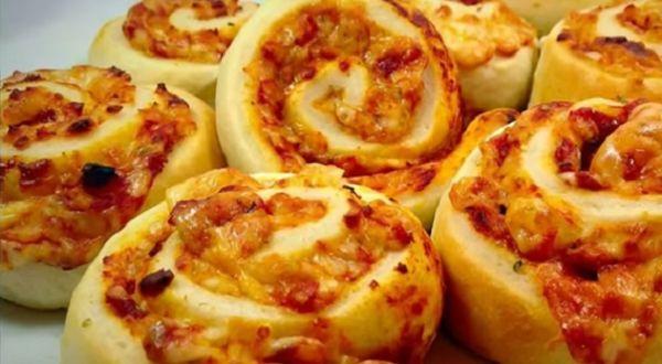 Pizzete s lisnatim tijestom