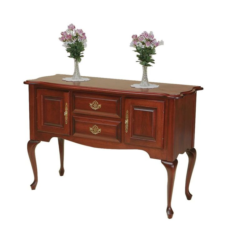 The Amish Queen Anne Side Board Is Pure Elegance Bring Sophistication And Class Into Your Dining Room With This Graceful Furniture Creation