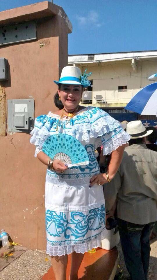 #Vestidoestilizado tipico  revista mujer  desfile mil ...