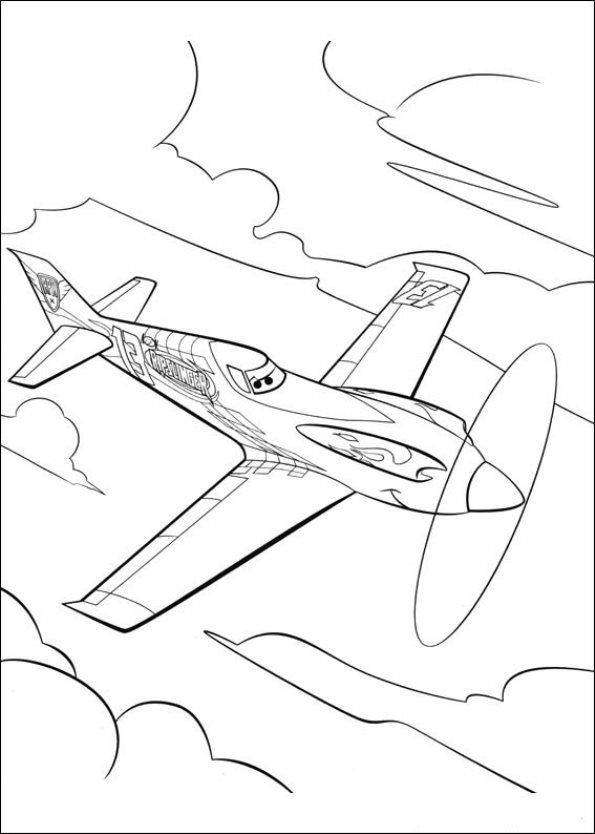 Planes Coloring Pages Airplane Coloring Pages Disney Coloring