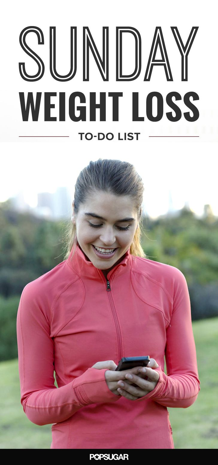 Use this fitness to-do list to make your Sunday as healthy as possible.