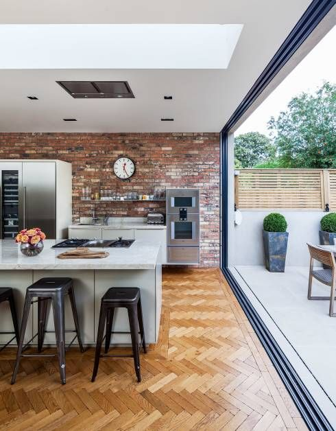 15 Breathtaking Brick Kitchens Bringing Rustic Back