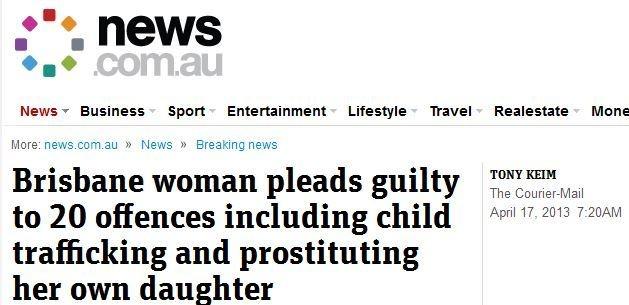 Mamma får fängelse för barnhandel | Ann-Mari's Blogg