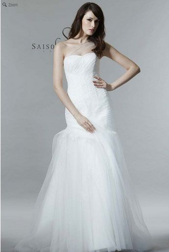 Saison Blanche Wedding Gown - Couture Collection - Style #4223