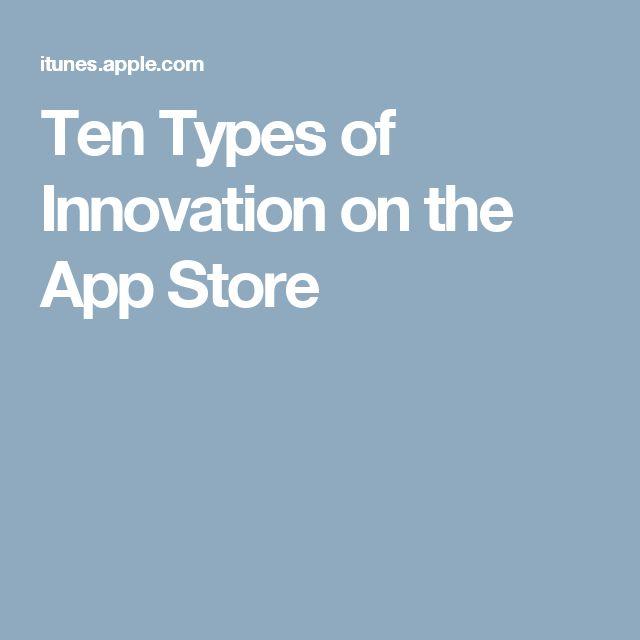 Ten Types of Innovation on the App Store #iPhoneXorTen