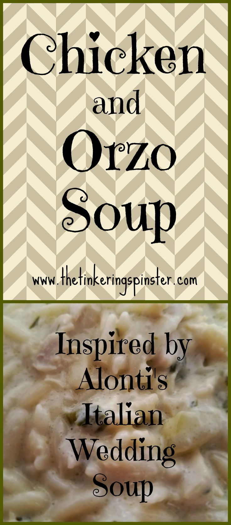 This is the best soup ever! #creambasedsoup #bestsoupever #italianweddingsoup #familyfavorites #alontihouston #orzo #chickenandorzo