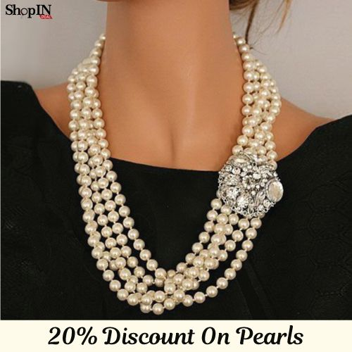 Explore Exclusive Collection of #Pearl Earrings, #Necklace,Rings & other #Jewelry @ ShopIN deal !!   Visit: http://shopindeal.com/Details/-Get-Amazing-20-Percent-Off-On-Elegant-Pearls--Colorful-Gems-/550/Chinchwad